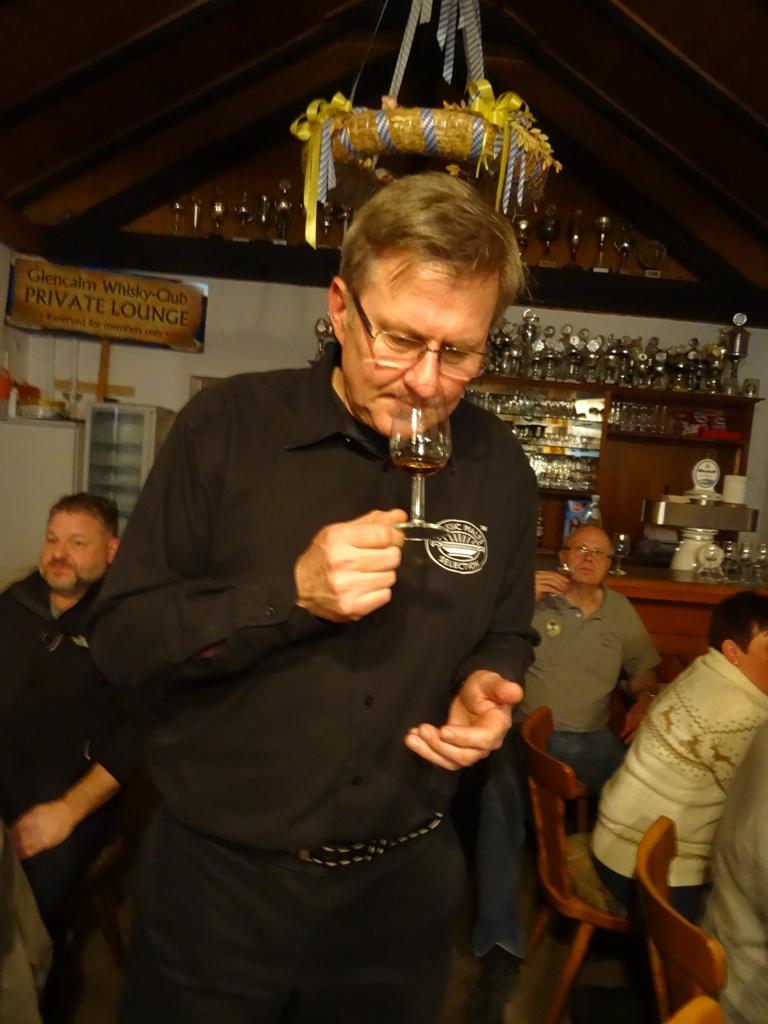 Willii von Lohr, Consultant der Whisky Agency
